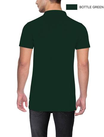 POLO-T-shirt-Back-B-Green