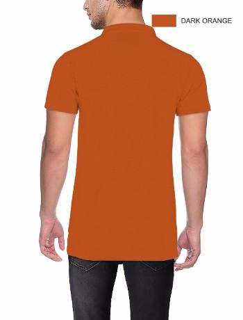 POLO T-shirt Back Dark Orange