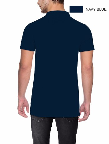 POLO T-shirt Back N Blue