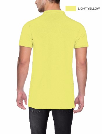 COLLAR NECK T-SILVER Light Yellow