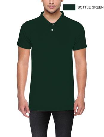 POLO-T-shirt-Bottle-Green