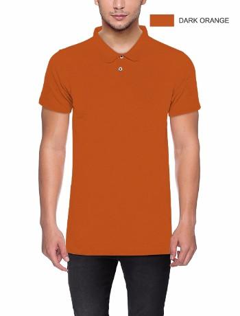 POLO T-shirt Dark Orange