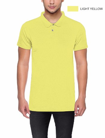 POLO T-shirt Lt Yellow