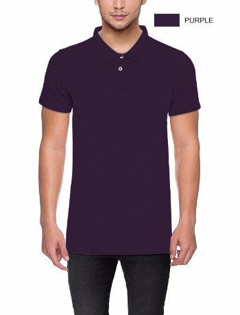 POLO T-shirt Purple