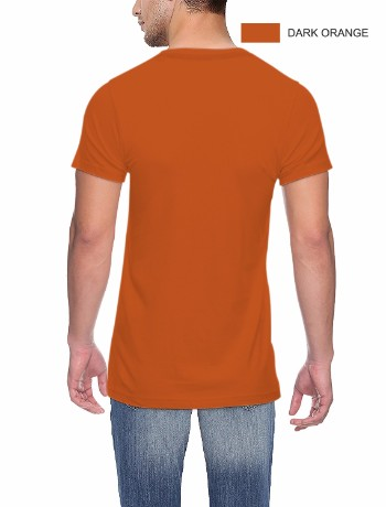 Round neck Back D Orange