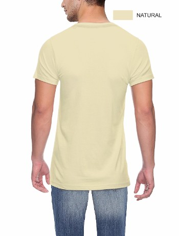 Round neck Back Natural