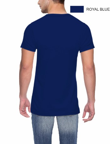 ROUND NECK T-CLASSIC-ROYAL BLUE