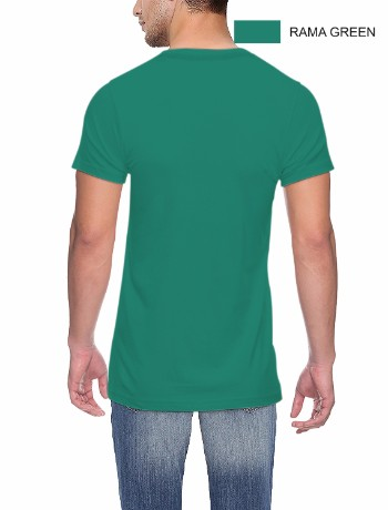ROUND NECK T-CLASSIC_RAMA GREEN