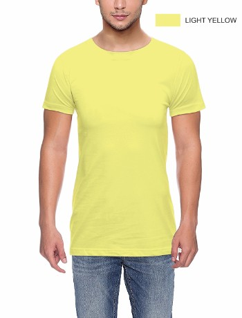 Round neck LT Yellow