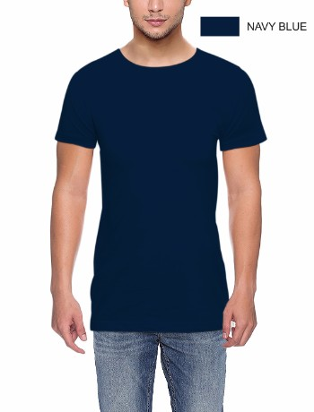 ROUND NECK T-CLASSIC-NAVY BLUE