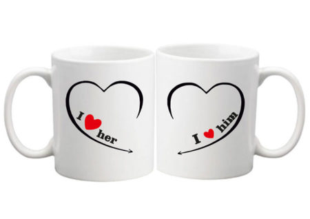 COUPLE I LUV MUGS